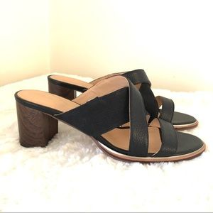 CLARKS Cushion Plus Leather Wedge  10.5 Shoes 42